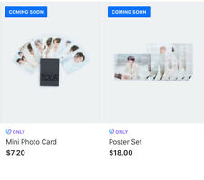 BTS Map Of The Soul Tour Merch (2ND PREORDER)