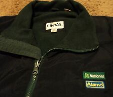 National Alamo Car Rental Warm Jacket Coat for over shirt Size Large by Cintas