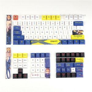 Fate Zero Saber Cherry Height Keycap PBT Key Caps For Cherry MX Keyboard Gift