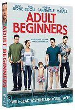 ADULT BEGINERS ROSE BYRNE NICK KROLL BOBBY CANNAVATE JOEL MCHLE NEW SEALED DVD
