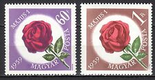 Hungary - 1959 Labour day / Roses Mi. 1581-82 MNH