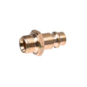 """Druckluft Stecker Einstecknippel 1/4"""" AG Stecknippel  Schnellkupplung Adapter"""