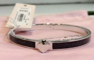 KATE SPADE Heritage Spade Thin Bangle - Navy - New with Tag in Pouch