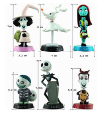 Nightmare Before Christmas Jack Skellington Action Figure Toy Doll Home Car Deco