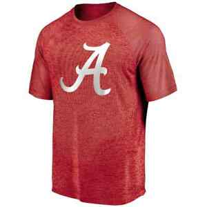 Alabama Crimson Tide NCAA Fanatics Red Tee Shirt Brand New