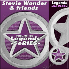 Karaoke CD+G Legends Series vol-100 Stevie Wonder & Friends,Supertition, w/Print