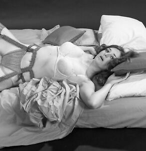 1960s Negative-sexy pinup girl Karen in lingerie-cheesecake t430842