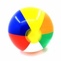 Children Kids 10Pcs Beach Pool Play Water Game 25cm Inflatable Rainbow Ball