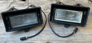 BMW E30 left & right pre-facelift / VFL, early type Fog Lights, NEW & USED PARTS