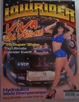 Lowrider Magazine lot Vtg 96-99 (5) issues aug96 mar98  dec98 jan99 july99 NICE!