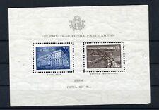 Lettonie : superbe bloc n° 1 de 1938 neuf