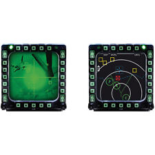 Thrustmaster MFD Cougar Pack For PC Gameplay 2-Pack of USB Cockpit Panels
