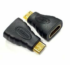 AKORD Gold Plated HDMI Female to Type C Mini HDMI Male Adapter Convertor