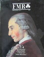 FRANCO MARIA RICCI REVUE ART FMR No 4 de 1986 COSTUME BALLET GOYA MONTRE BREGUET