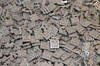 500 x LEGO® Plate / Platten 2x2 ( 3022 ) in Neu Hellgrau / light bluish gray NEU