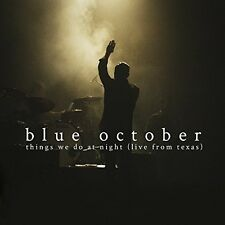 Blue October - Things We Do at Night - Live from Texas [New CD]