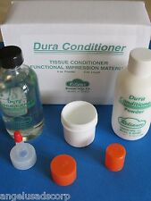 Dura Tissue Conditioner Functional Impression Material Set Powder + Liquid Kit