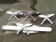 Gurkha Regiment Cufflinks, Badge, Tie Clip Military Gift Set