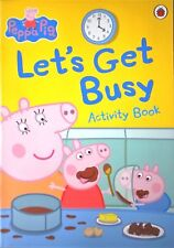 Peppa Pig | Let's Get Busy | Age 4+ | Activity Book | Games | Puzzles | New
