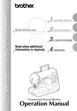 Brother NX-400 NX-400Q Sewing Machine Owners Instruction Manual Reprint