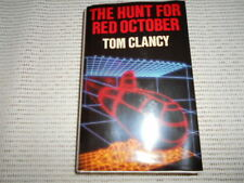 The Hunt for Red October Tom Clancy. 1st UK edition in DJ. 1985. Nice copy.