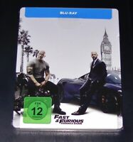 Fast & Furious Hobbs & Shaw Limitada steelbook Edición blu ray Nuevo & Emb.orig