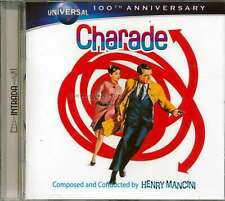 "Henry Mancini ""CHARADE"" soundtrack Intrada 77min score CD SEALED out of print"