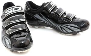 Sidi Sun Mountain Bike Shoes EU 39 US Women 7 Black 2 Bolt Gravel MTB Trail Race