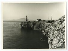 Europa Point, Gibraltar - Lighthouse - Vintage 8x10 Photograph