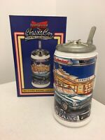 Budweiser Classic Car Series Beer Stein 1964 1/2 FORD MUSTANG Convertible CS440