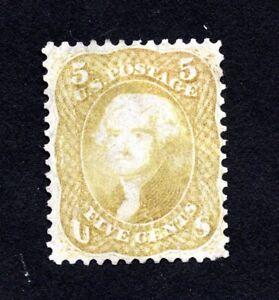 USA 1861 stamp Scott#67 MNG CV=10500$