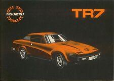 Triumph TR7 Original Handbook USA Edition 1976-78 Pub. No. AKM 4152