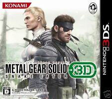 Used 3DS Metal Gear Solid: Snake Eater 3D  NINTENDO 3DS JAPANESE  IMPORT