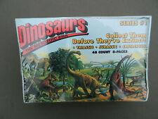 1993 Dinosaurs Mesozoic Era Trading Cards 48 Pack Factory Sealed Box Unopened #1