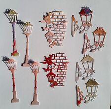 10 Piece Die Cut Mixed Lanterns #2 - Scrapbooking, Cards, Papercrafts