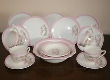 Art Deco - Pretty Kensington Pottery Tea Set for 4 - Plus Dessert Set c.1930's