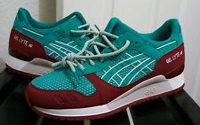 ASICS GEL-LYTE III RETRO RUNNING SHOES SPECTRA GREEN BAIT FIEG H628Y 7878 SZ 9
