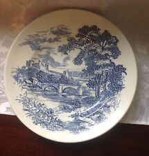 "10"" Enoch Wedgwood Tunstall England Countryside Plate"