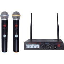 Nady Nady Dual Uhf Wireless Handheld Microphone System