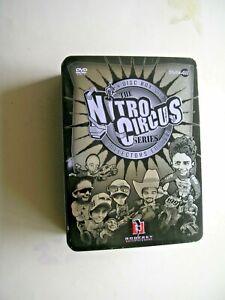 NITRO CIRCUS SERIES 4 DISC BOX SET BRAND NEW