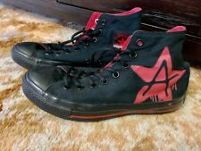 Converse Men's Red And Black Anarchy High Top Style Shoes - Us 8.5 Uk 6.5 Eur 39
