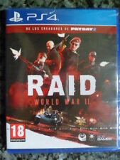 RAID II World War II 2 PS4 Nuevo precintado Acción Shooter Cooperativo