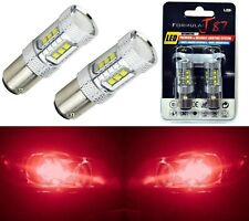 LED Light 80W 1157 Red Two Bulbs Stop Brake Replace Upgrade Stock Tail Lamp Fit
