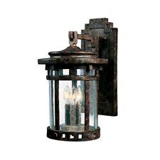 Maxim Santa Barbara Vx 3-Light Outdoor Wall Lantern Sienna - 40034Cdse