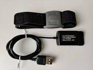 Scosche Rhythm+ Heart Rate Armband Monitor, Bluetooth & ANT+, Black