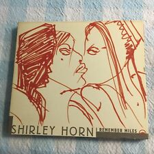 SHIRLEY HORN I REMEMBER MILES CD DIGIPACK