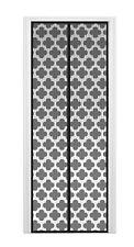 Super Magnetic Screen Door - Hands Free Magic Mesh Fly Screens - Quatrefoil