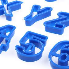 43 Ausstechformen Keks Mold Cutter Buchstaben Alphabet Zahlen Ziffern Geburtstag