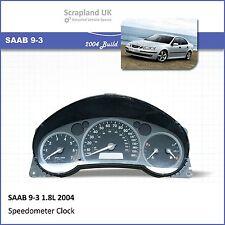 - SAAB 9-3 1.8L 2004 Speedometer Speedo Instrument Cluster