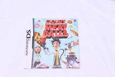 Nintendo DS -   Cloudy With a Chance of Meatballs - Instruction Manual Only